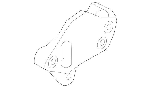 2007-2010 Audi A8 Quattro Trans Mount Bracket 4E0-399-114