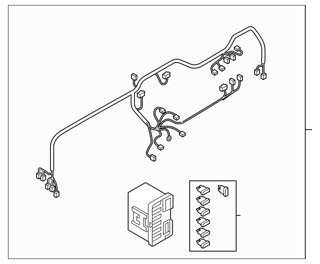 2013-2015 Mazda MX-5 Miata Wire Harness NP28-67-030