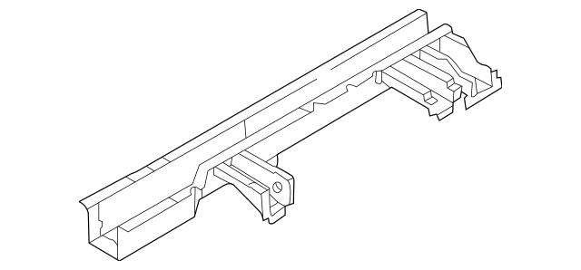 Buy this Genuine 2002-2005 Kia Sedona Frame Rail 0K52Y