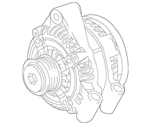 Genuine OEM Alternator Part# LR076696 Fits 2016-2020 Land