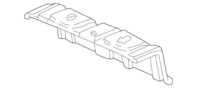 1998-2002 Honda ACCORD SEDAN Bracket, Roof Lining 83201