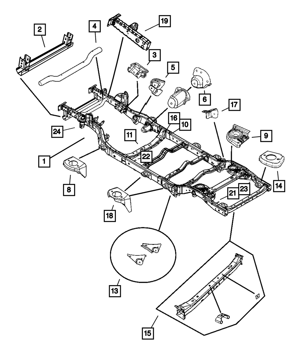 Jeep Yj Frame Diagram