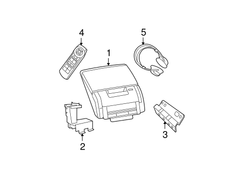 Entertainment System Components for 2009 Dodge Charger