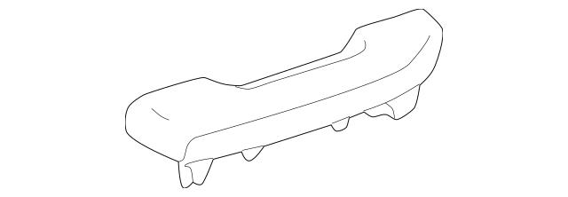 Genuine OEM Door Armrest Part# 74220-35010-E0 Fits 1995