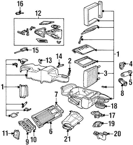 Heater for 1996 Lincoln Continental