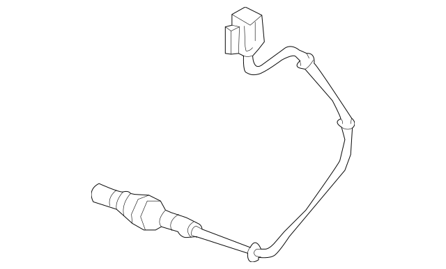 2004-2005 Acura TL SEDAN Sensor, Front Secondary Oxygen