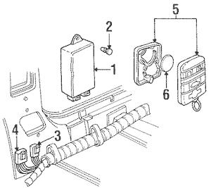 Keyless Entry Components for 1996 Chevrolet Blazer