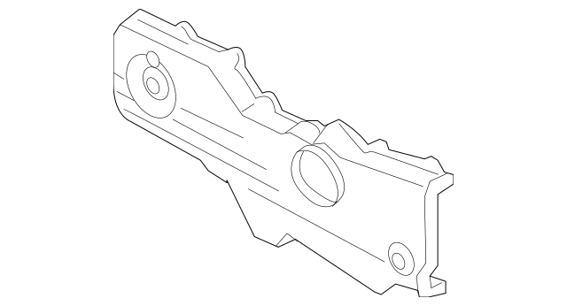 Subaru Impreza Forester Legacy Outback Timing Belt Cover 2