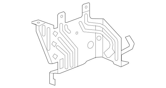 2009-2015 Honda PILOT 5-DOOR Bracket, Main Fuse Box 38243
