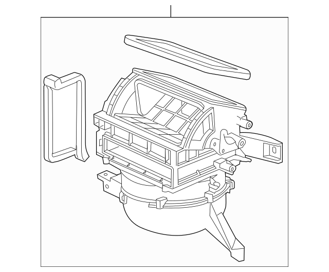 2010-2014 Honda INSIGHT Blower Sub-Assembly 79305-TM8-A41