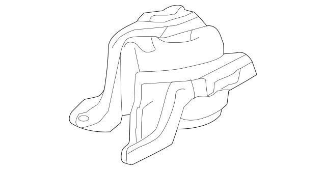 2013-2017 Honda Rubber Assembly, Transmission Mounting