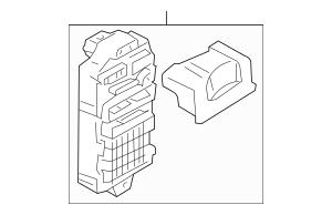 Genuine OEM Fuse Box Part# 8522a197 Fits 2008-2009