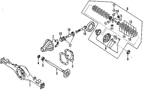 PROPELLER SHAFT for 2002 Nissan Pathfinder