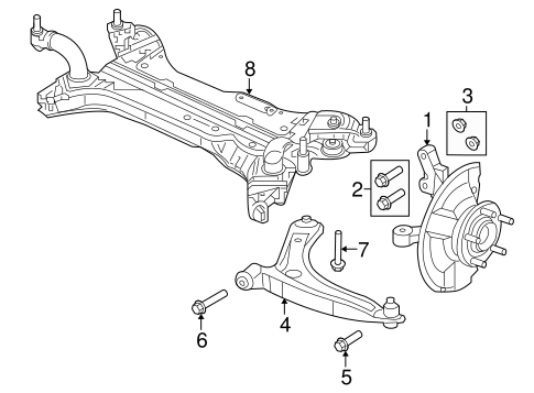 Suspension Components for 2011 Jeep Patriot