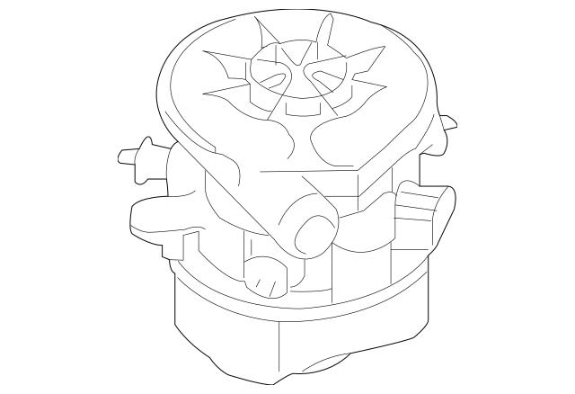 2007 Subaru A.I.R Pump Assembly- Secondary Air 14828AA060