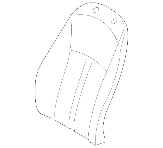 2003-2008 BMW Z4 Seat Back Cover 52-10-7-121-703