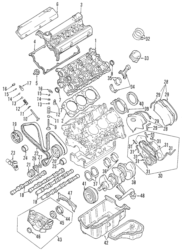 Buy this Genuine 1994-2004 Mitsubishi Crankshaft Pulley
