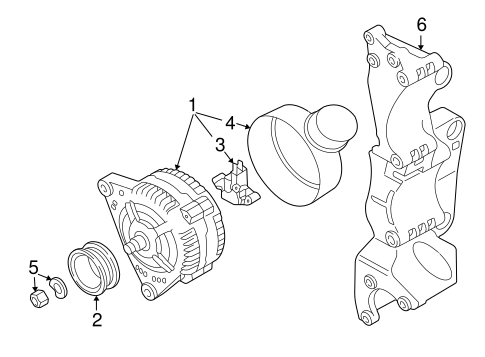Alternator/Generator & Related Components for 2003