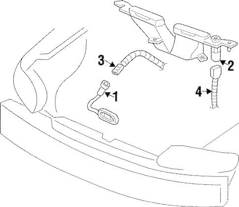 Oldsmobile Cutlass Supreme Connector 1997
