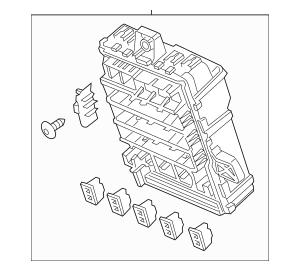 2013 Acura ILX SEDAN Box Assembly, Fuse (Rewritable) 38200