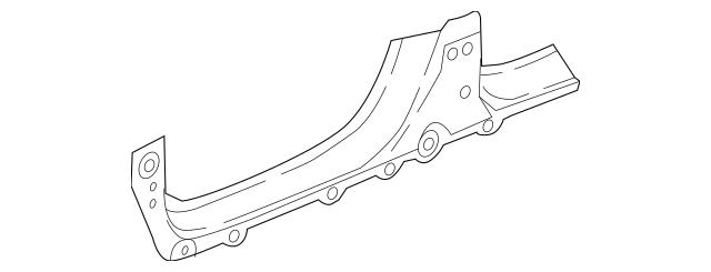 2017 Honda RIDGELINE SEDAN Panel, R Side Sill 04631-T6Z