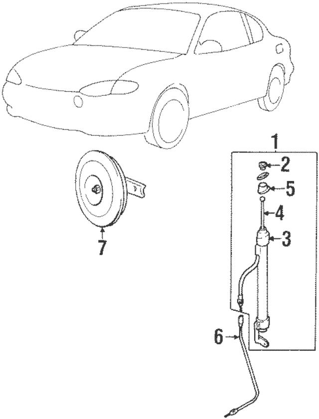 Genuine OEM Mast Insulator Part# 96216-27000 Fits 1997
