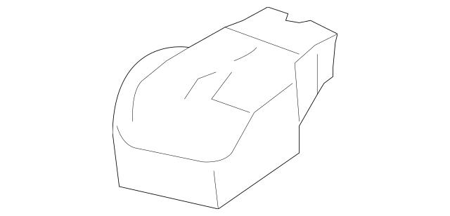 Genuine Honda Cover, Battery Terminal 32418-RNA-300