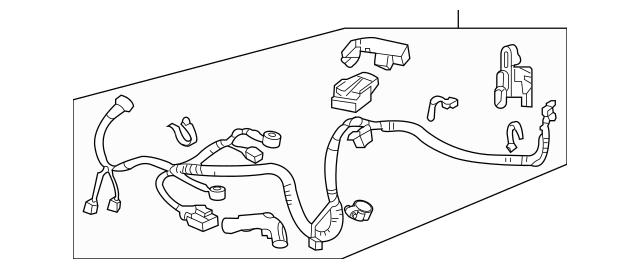 Discount Genuine OEM Honda Sub-Wire, Starter 32111-RRB-A03