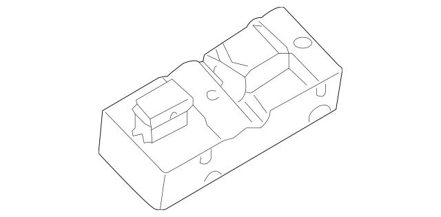 2003-2004 Infiniti FX35 Window Switch 25401-ZK30A