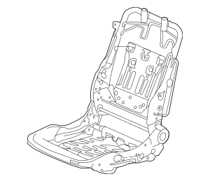 2013-2014 Honda Frame, R Front Seat 81136-T2A-A01
