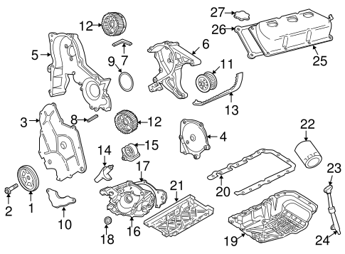 ENGINE PARTS for 2004 Chrysler Concorde