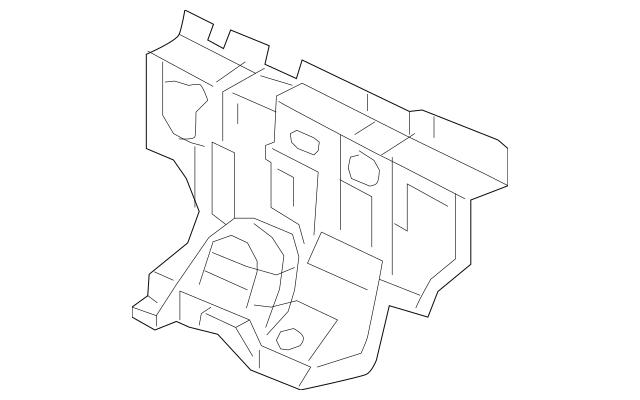 Honda Insulator, Dashboard (Outer) (74251-T0A-A00