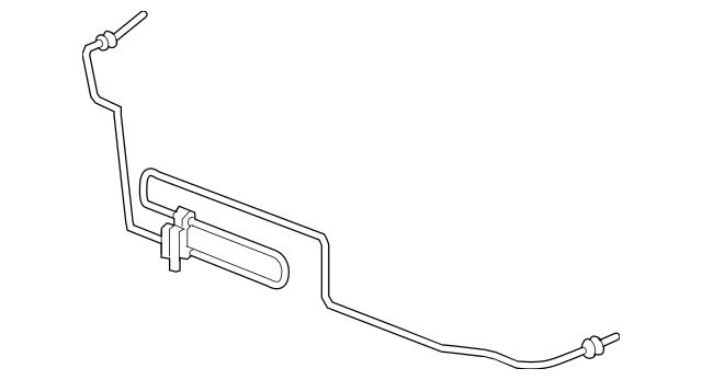 2005-2010 Honda ODYSSEY 5-DOOR Cooler, Power Steering Oil