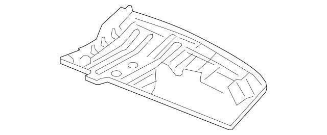 2012-2016 Honda CR-V 5-DOOR Cover Assembly, Rear Floor