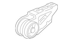 2007-2008 Honda FIT 5-DOOR Stopper, Front Engine 50840-SAA