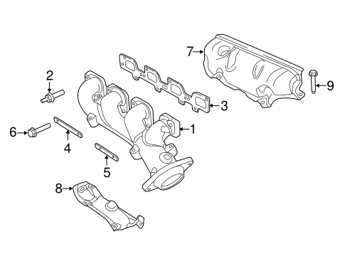Exhaust Manifold for 2015 Jeep Grand Cherokee Parts