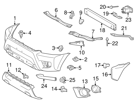 Toyota Tacoma Body Parts ~ Best Toyota