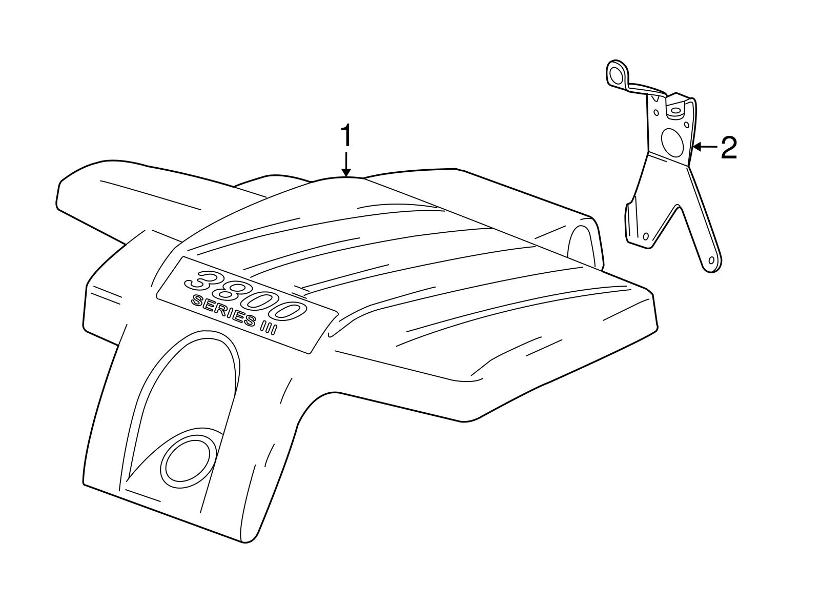 Pontiac Grand Prix Series Iii V6 Oem