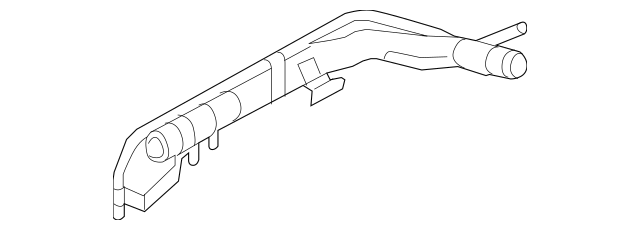 2007-2011 Audi A6 Quattro Pipe Assembly 079-121-070-BQ