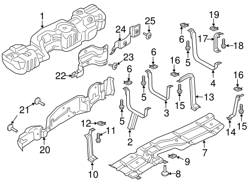 Fuel System Components for 2019 Ford F-250 Super Duty