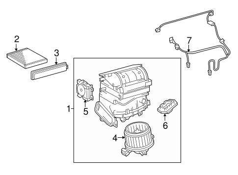 Genuine OEM Blower Motor & Fan Parts for 2016 Toyota RAV4