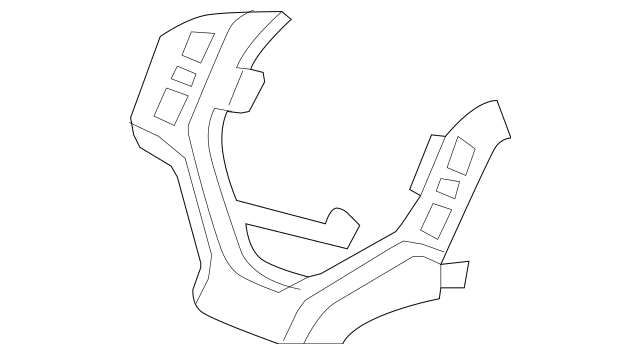 2006-2008 Honda RIDGELINE SEDAN Finisher *NH526L* (Satin