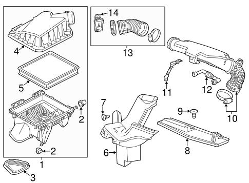 OEM 2013 Chevrolet Malibu Ignition System Parts