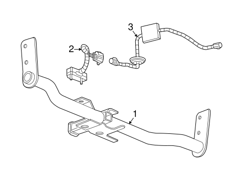 TRAILER HITCH COMPONENTS for 2007 Chevrolet Equinox