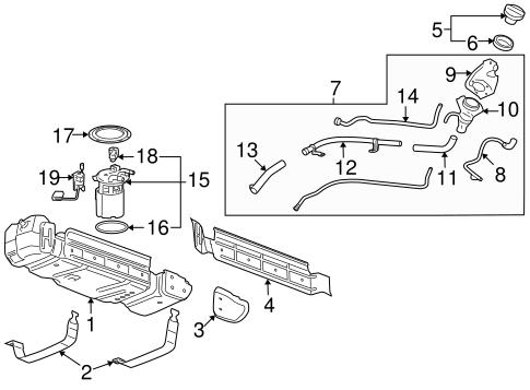 Emission Components for 2007 Chevrolet Suburban 1500 (LTZ