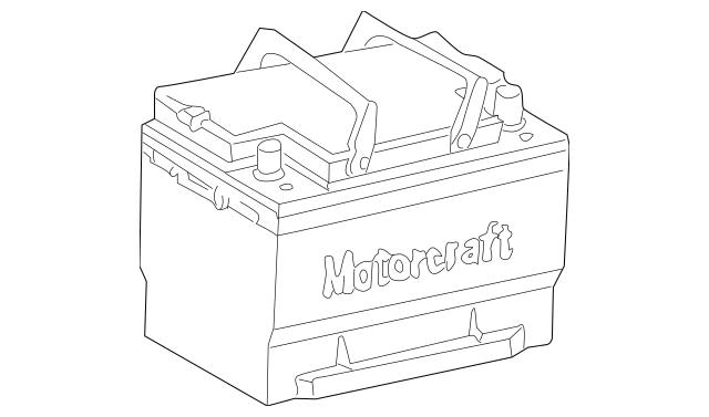 Car Battery Di Auto Electrical Wiring Diagram