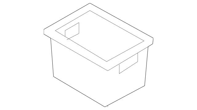 2008-2010 Nissan Rogue Compartment Box 96925-JM00A