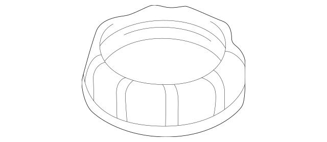 1999-2005 Mitsubishi Fuel Pump Assembly Lock Ring MR271388