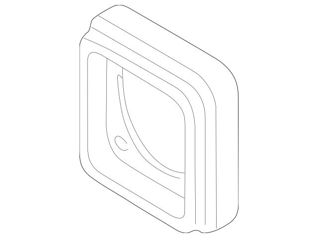 1997-2003 BMW Speaker Insulator 65-13-8-369-578