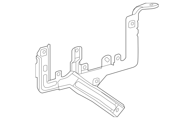 2013-2015 Acura RDX 5-DOOR Bracket, Engine Control Module